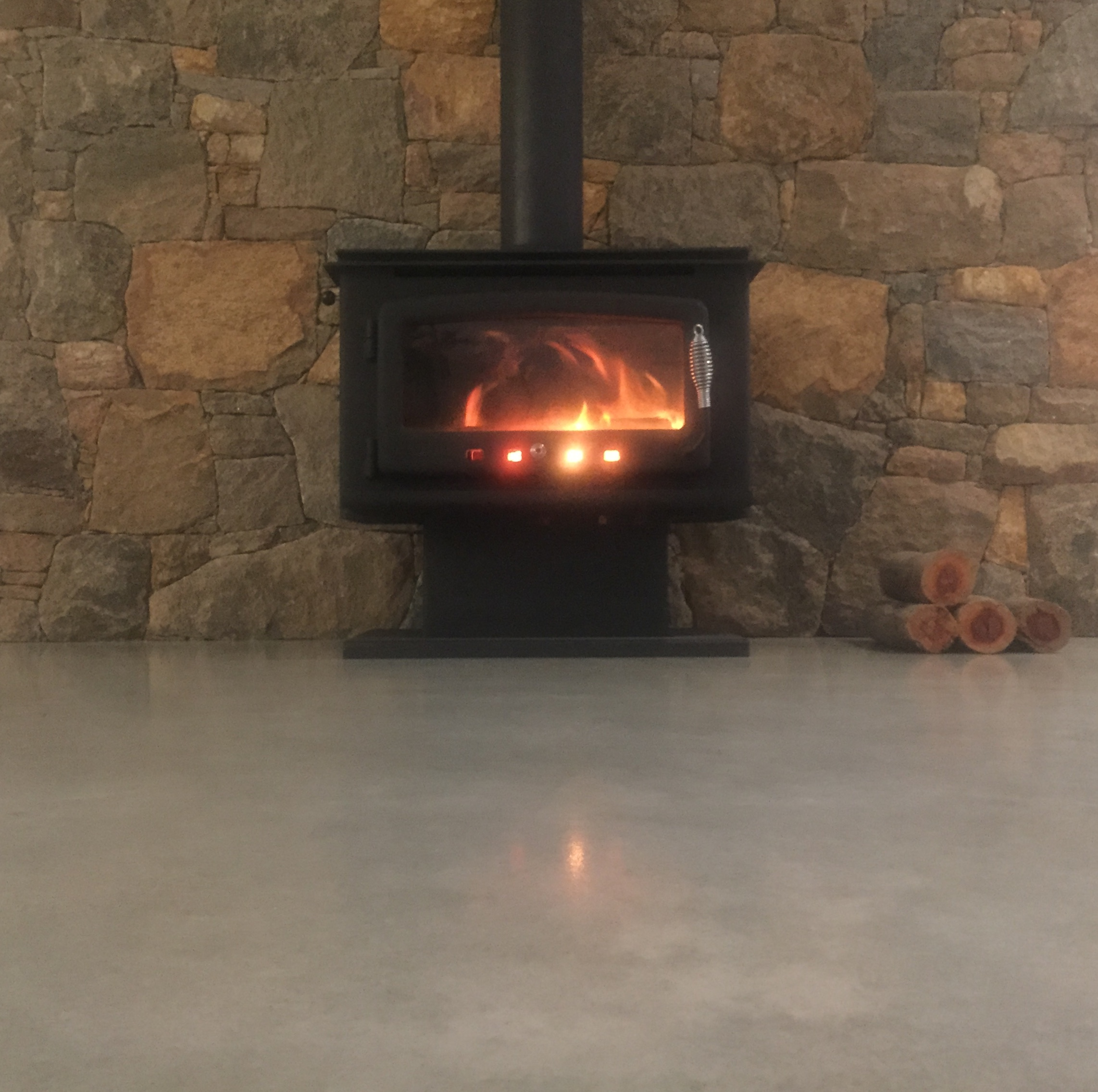 Winter Warmth with Polished Concrete - The Polished Concrete Company